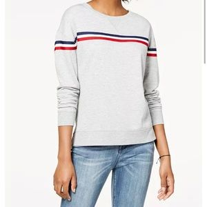 3?$12 Pink Republic gray red white blue sweater